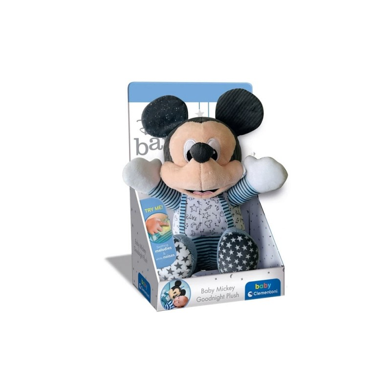 Peluche Mickey Goodnight Plush - Clementoni  - MazzeoGiocattoli.it