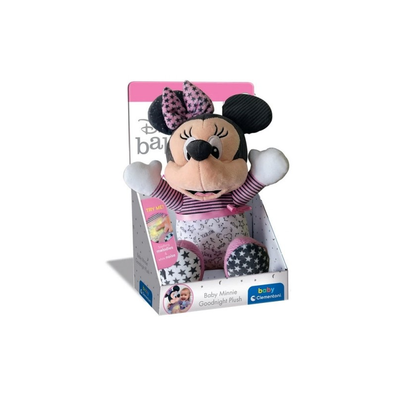 Peluche Minnie Goodnight Plush - Clementoni  - MazzeoGiocattoli.it