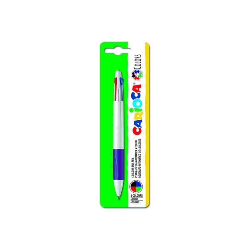 Penna 4 Colori - Carioca  - MazzeoGiocattoli.it