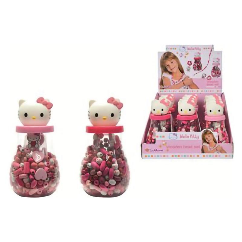 Perline Per Bracciali E Collane Hello Kitty - Simba - MazzeoGiocattoli.it