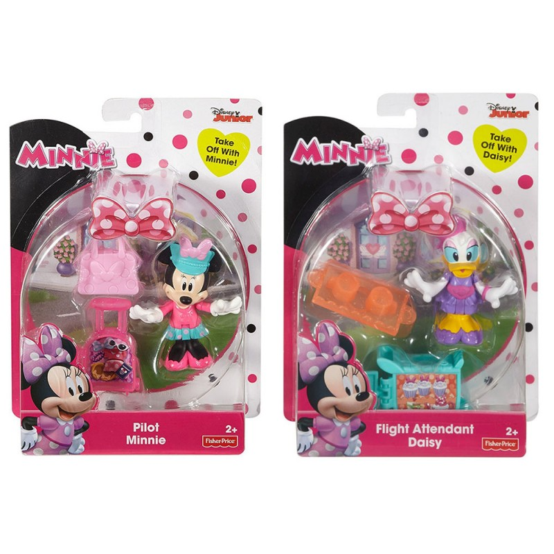 Personaggio Disney Minnie O Paperina - Fisher Price - MazzeoGiocattoli.it