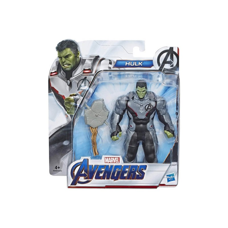 Personaggio Marvel Avengers Endgame Hulk Con Accessorio - Hasbro  - MazzeoGiocattoli.it