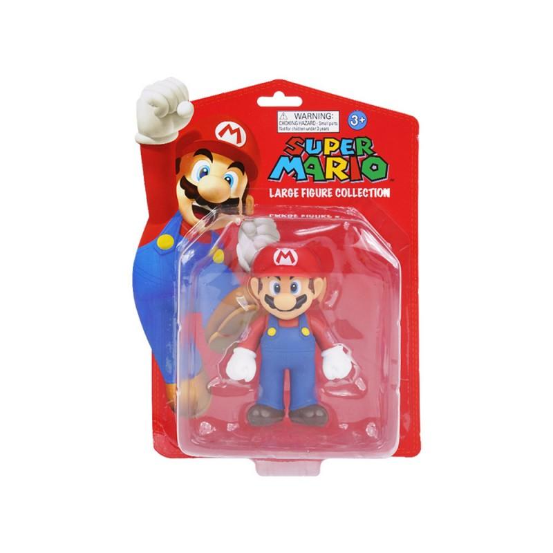 Personaggio Super Mario Cm.13  - MazzeoGiocattoli.it