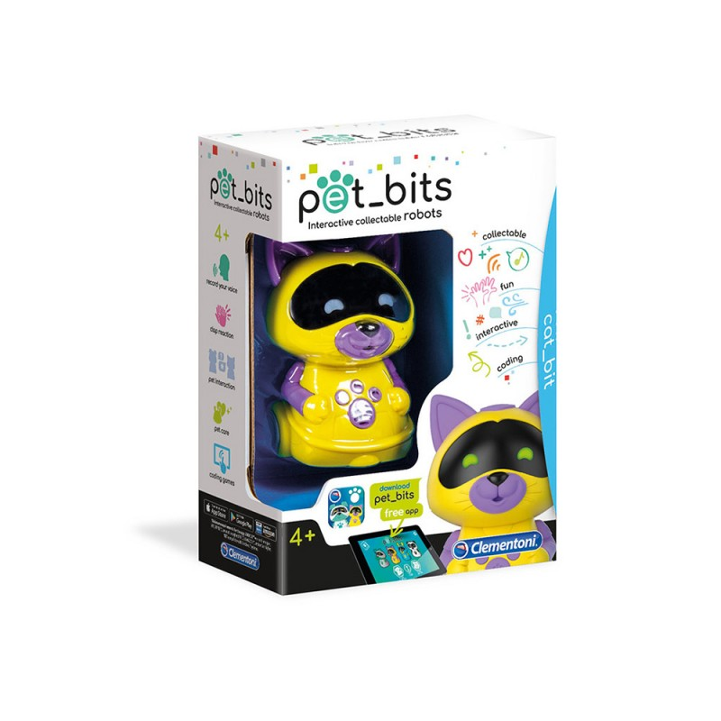 Pet Bits Robot Orso Educativo - Clementoni  - MazzeoGiocattoli.it
