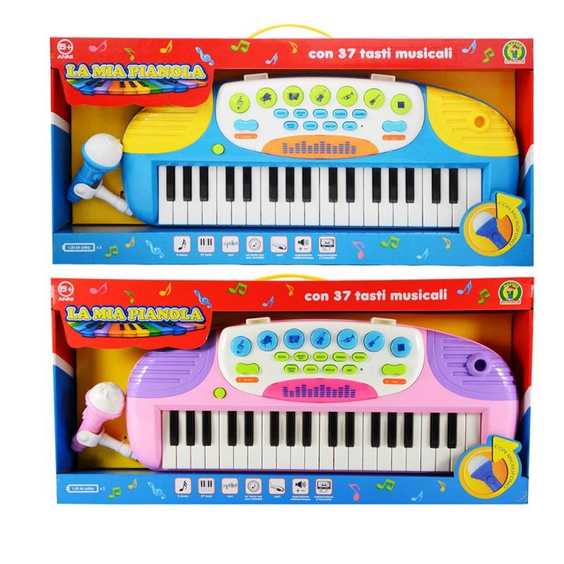 Pianola Per Bambini Con Con Microfono  - Mazzeo Giocattoli - MazzeoGiocattoli.it