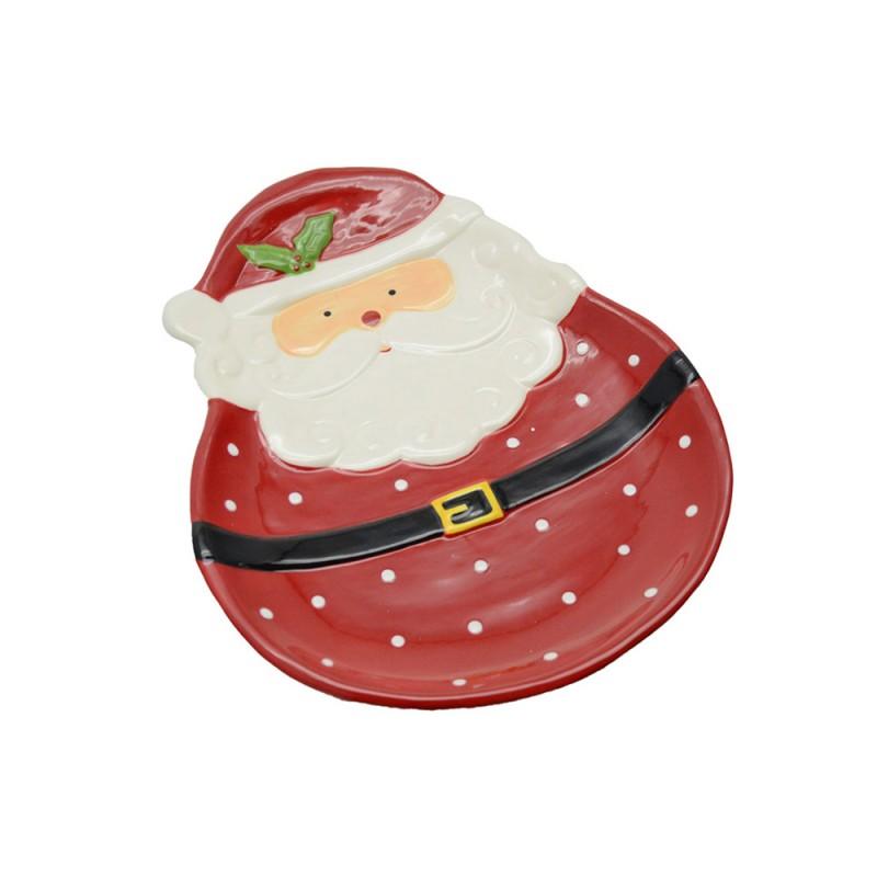 Piatto Babbo Natale - MazzeoGiocattoli.it