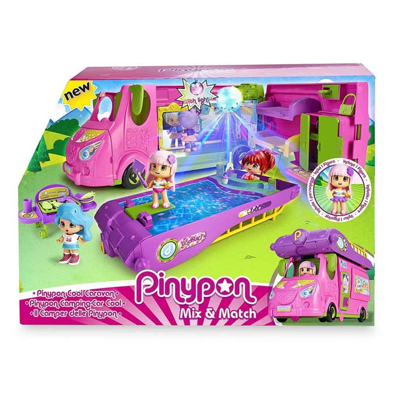 Pinypon Cool Caravan, Playset - Famosa  - MazzeoGiocattoli.it