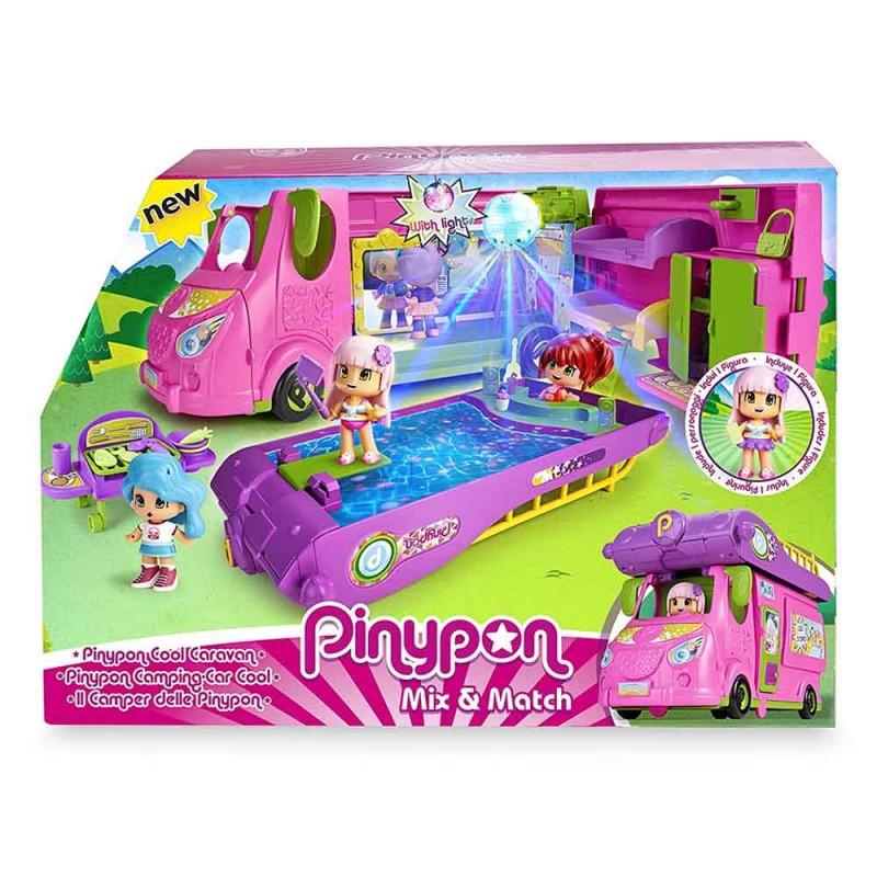 Pinypon Cool Caravan, Playset - Famosa  - MazzeoGiocattoli.it
