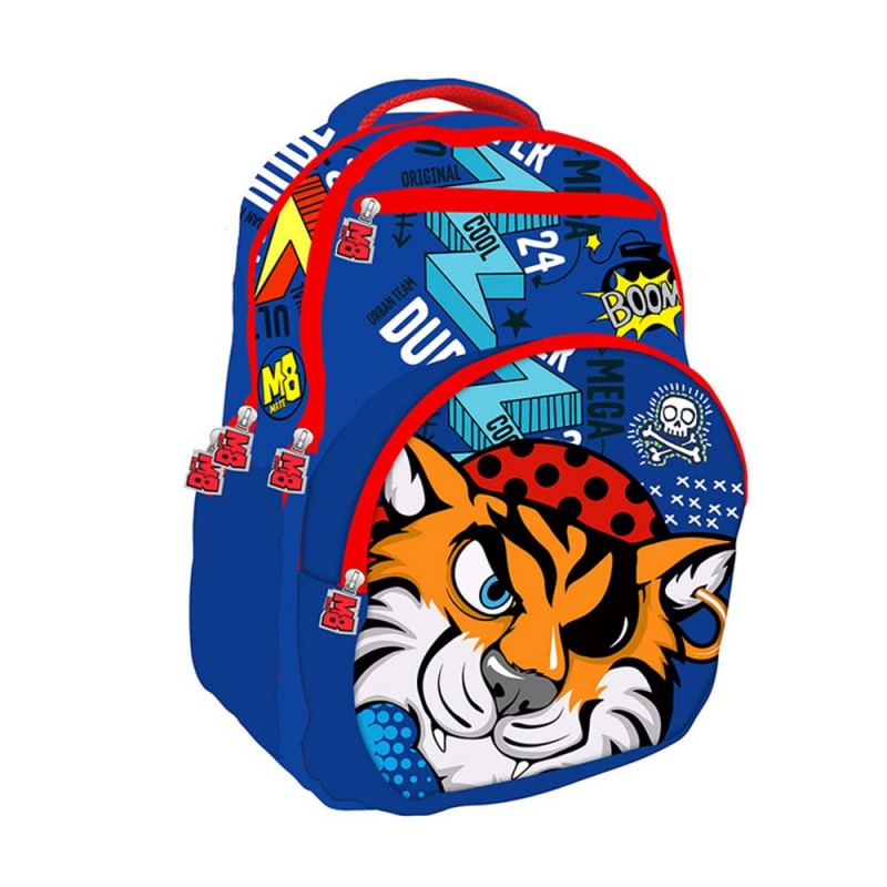 Zaino Tigre Teen Mate Child Boy  - MazzeoGiocattoli.it