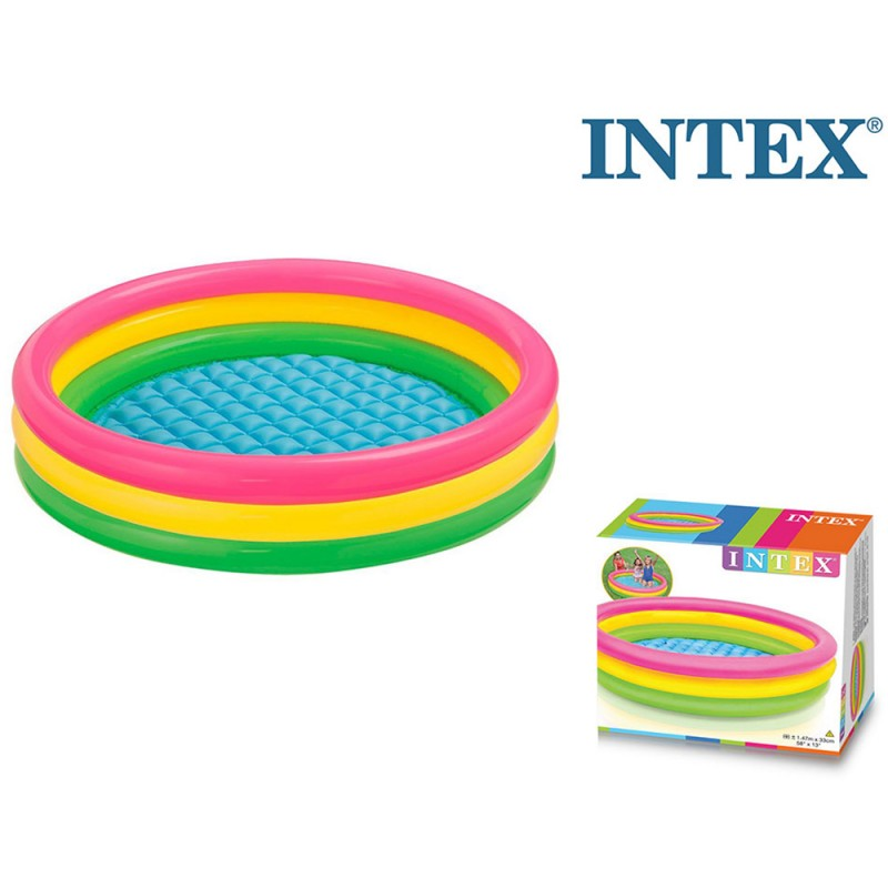 Piscina Mare 3 Anelli 147cm - Intex  - MazzeoGiocattoli.it