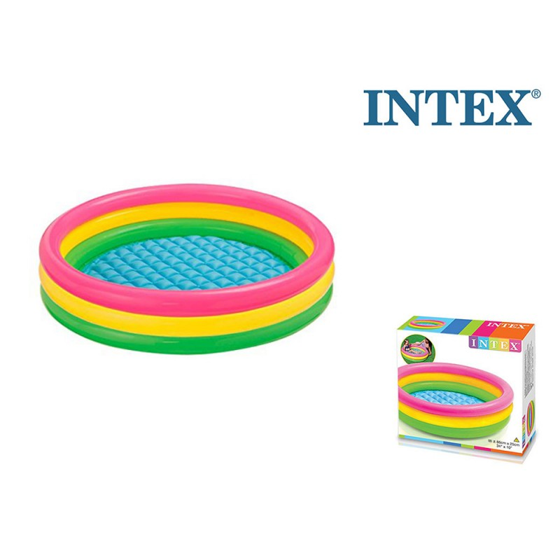 Piscina 3 Anelli 86 Cm - Intex  - MazzeoGiocattoli.it