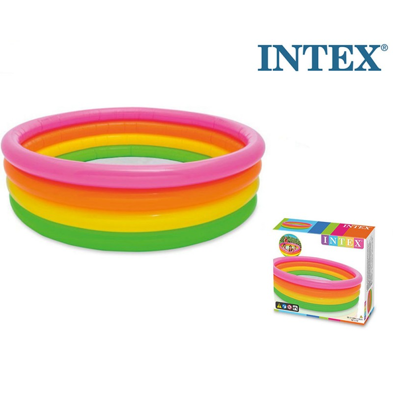 Piscina 4 Anelli Sunset - Intex  - MazzeoGiocattoli.it