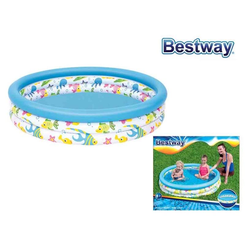 Piscina Gonfiabile Per Bambini Coral - Bestway - MazzeoGiocattoli.it