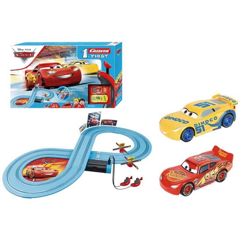 Pista Elettrica Disney Cars Race Of Friend - Carrera  - MazzeoGiocattoli.it