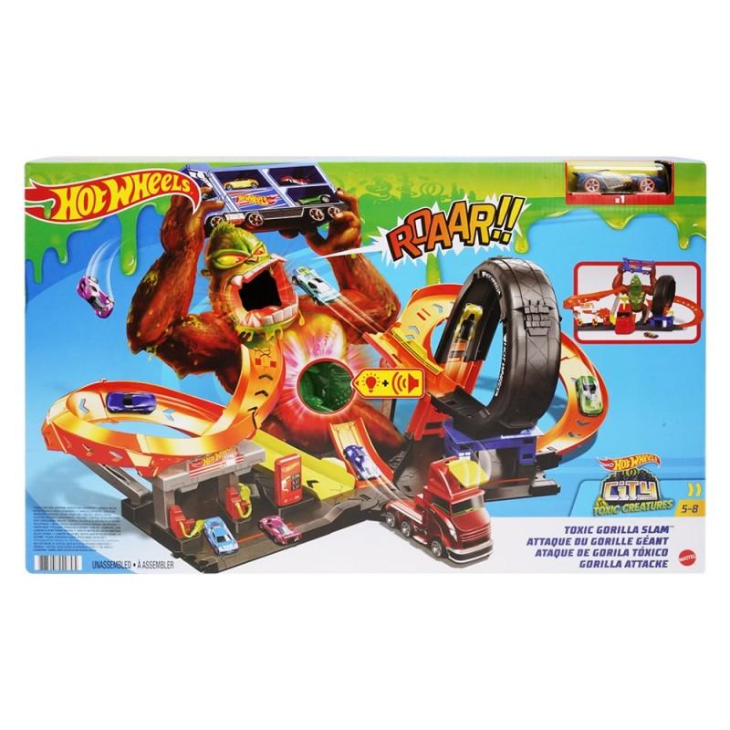 Pista Hot Wheels Assalto Del Gorilla Velenoso - Mattel - MazzeoGiocattoli.it