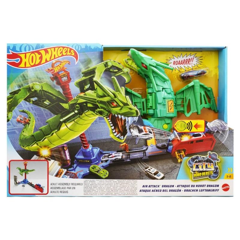 Pista Hot Wheels Attacco Aereo Del Drago - Mattel - MazzeoGiocattoli.it