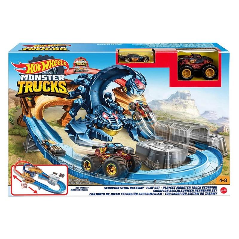 Pista Hot Wheels Sfida Allo Scorpione - Mattel  - MazzeoGiocattoli.it