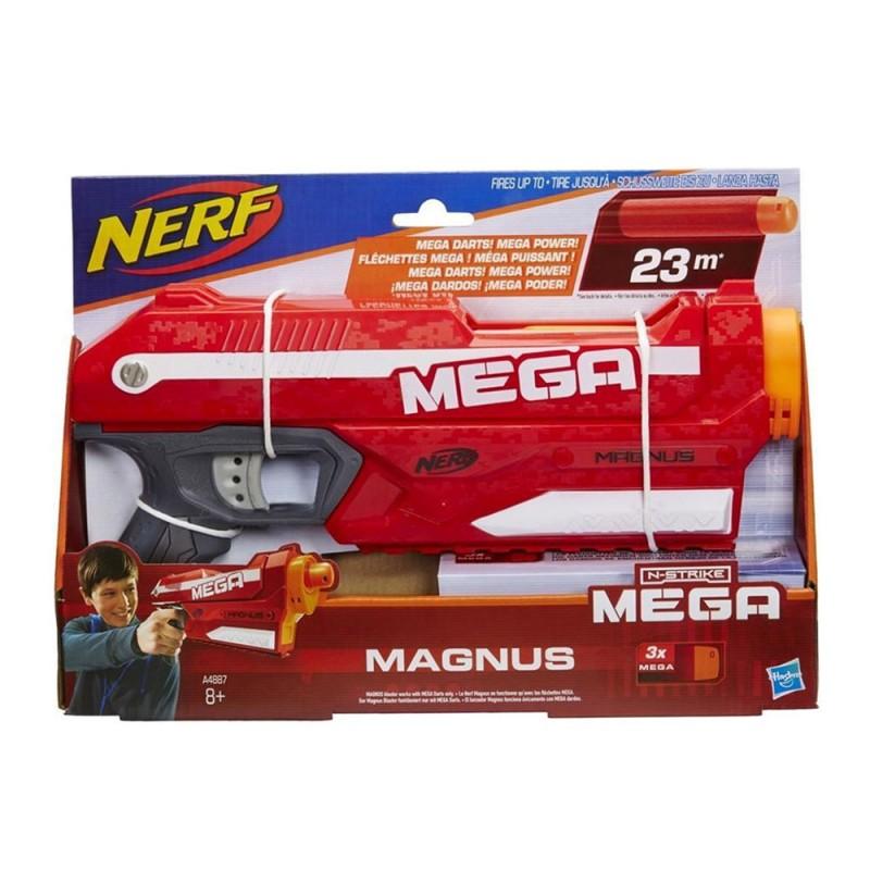Pistola Nerf Mega Magnus Dual Strike - Hasbro  - MazzeoGiocattoli.it