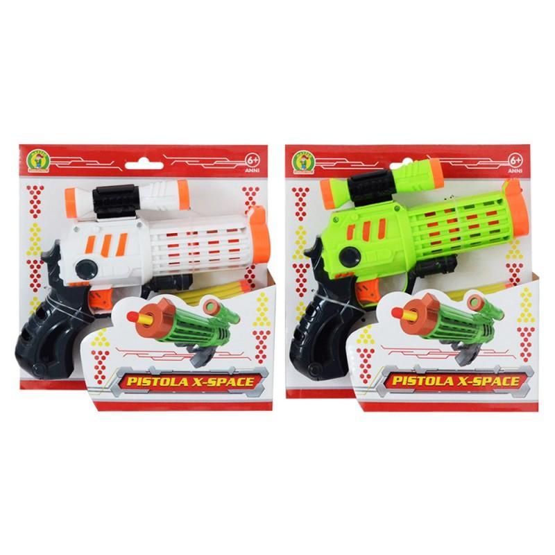 Pistola Spara Dardi X-space - Mazzeo Giocattoli - MazzeoGiocattoli.it