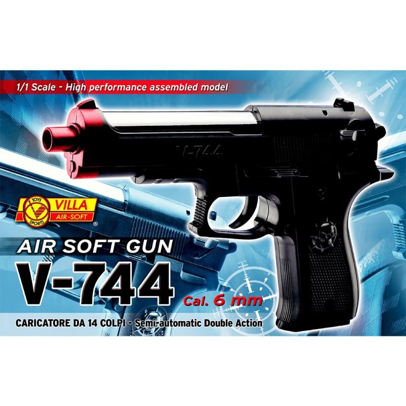 Pistola Air Soft 6mm - Villa Giocattoli  - MazzeoGiocattoli.it