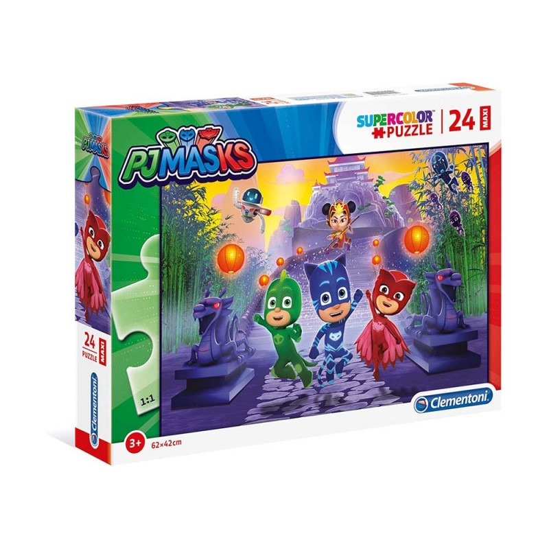 Pj Mask Supercolor Puzzle - Clementoni  - MazzeoGiocattoli.it