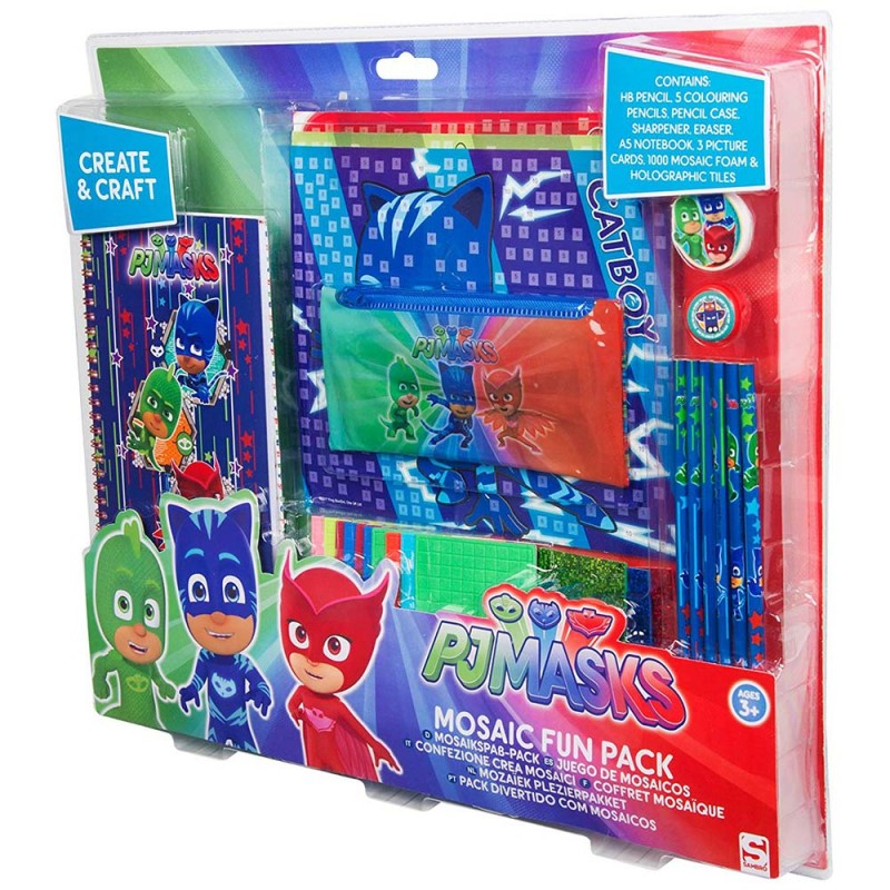 PJ Masks Set Crea Mosaico  - MazzeoGiocattoli.it