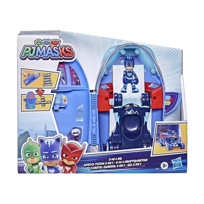 PJ Masks QUARTIER Generale 2 In 1 - Hasbro  - MazzeoGiocattoli.it