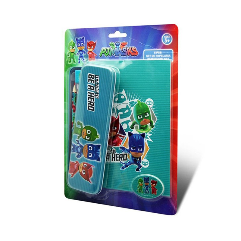 PJ Masks Set Cancelleria Con Portamatite - MazzeoGiocattoli.it