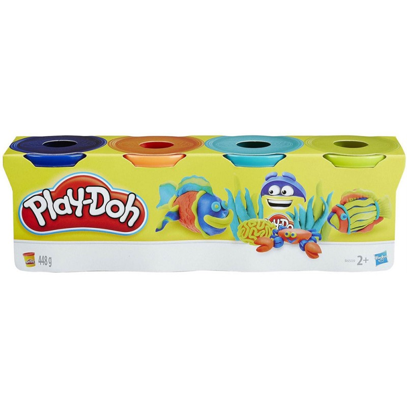 Play Doh Set 4 Vasetti Colorati - Hasbro - MazzeoGiocattoli.it