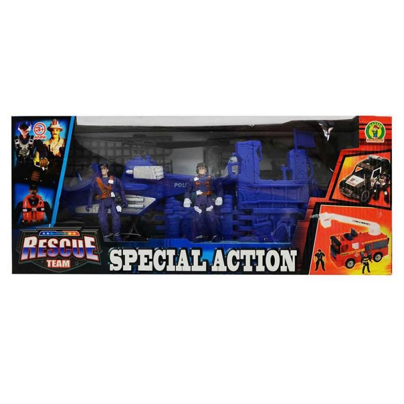 Special Action Playset Personaggi Polizia- Mazzeo Giocattoli - MazzeoGiocattoli.it