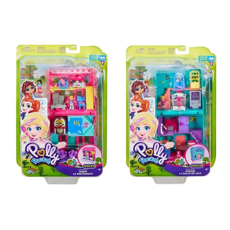 Playset Richiudibile Polly Pocket - Mattel - MazzeoGiocattoli.it