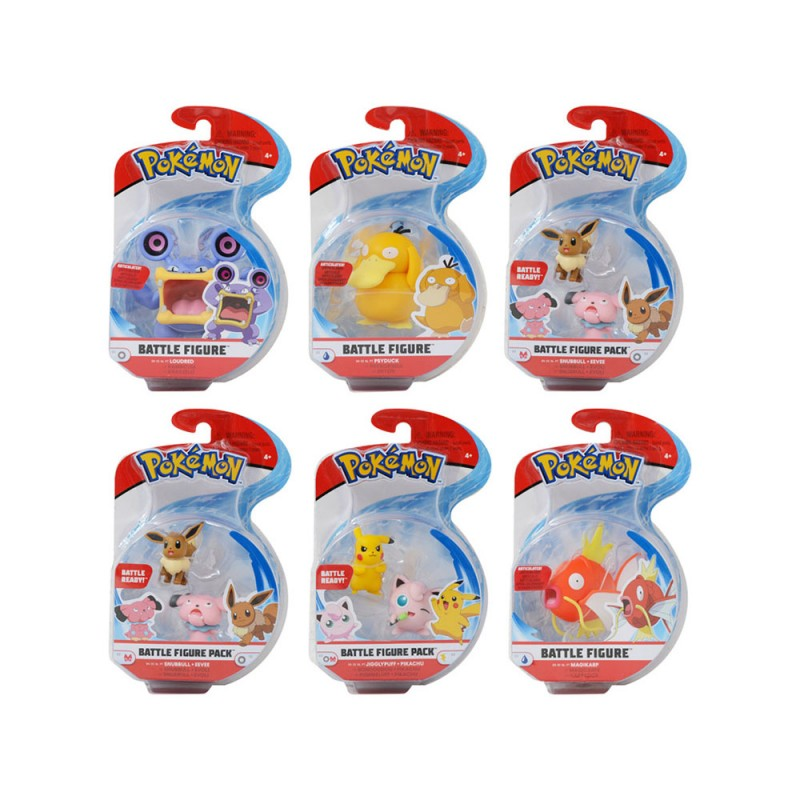 Pokèmon Battle Figure Pack - Giochi Preziosi  - MazzeoGiocattoli.it