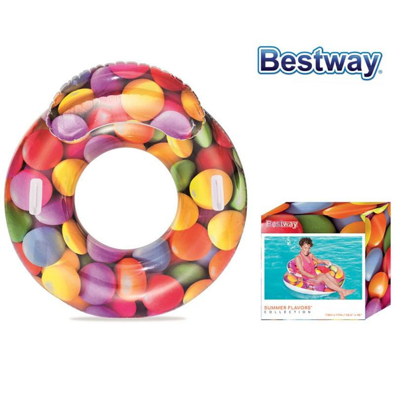 Poltrona Candy Delight 118cm - Bestway  - MazzeoGiocattoli.it