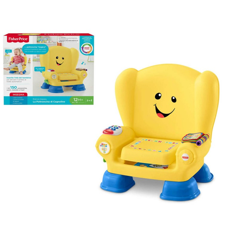 Poltroncina Cagnolino - Fisher Price - MazzeoGiocattoli.it