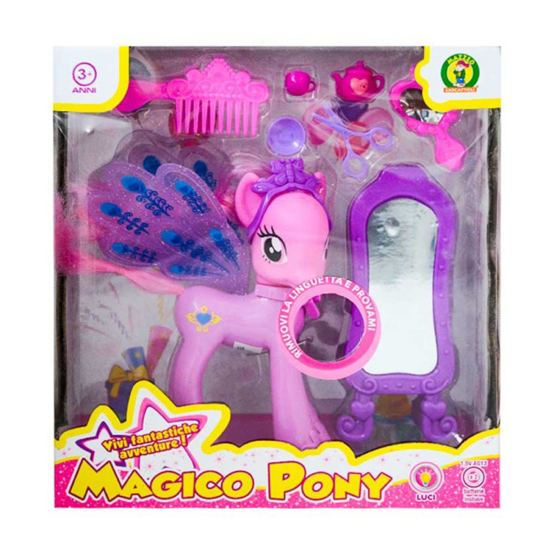 Magico Pony Con Luci - Mazzeo Giocattoli - MazzeoGiocattoli.it