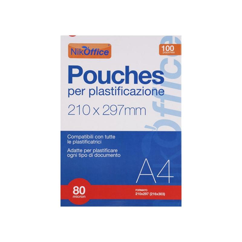 Pouches Per Plastificare 80 Micron A4  - MazzeoGiocattoli.it