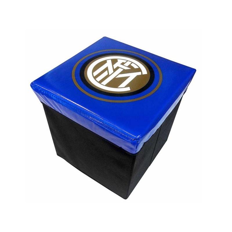 Pouf Contenitore F. C. Inter Ufficiale - MazzeoGiocattoli.it