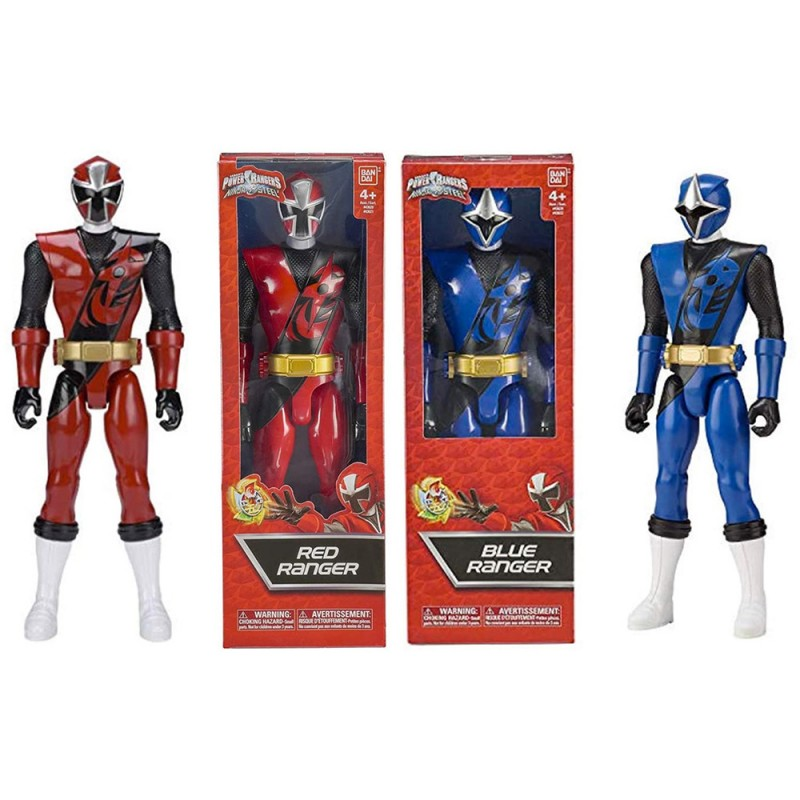 Power Rangers Ninja Steel Personaggio 30 Cm - MazzeoGiocattoli.it