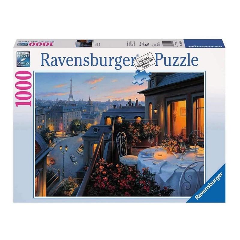 Puzzle 1000 Pz Balcone A Parigi - Ravensburger - MazzeoGiocattoli.it