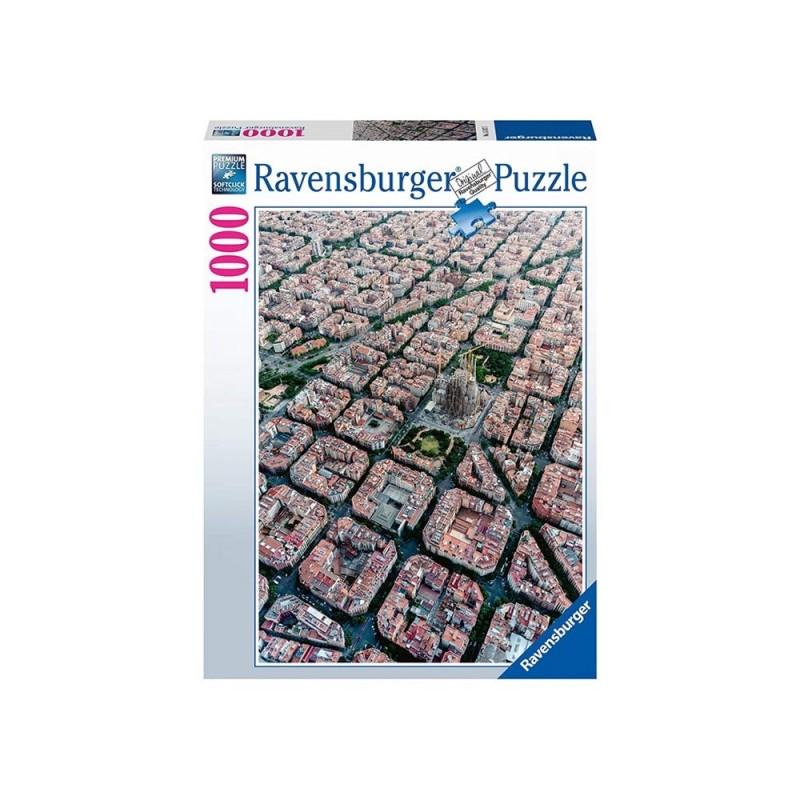 Puzzle 1000 Pz Barcellona Vista Dall'Alto - Ravensburger  - MazzeoGiocattoli.it