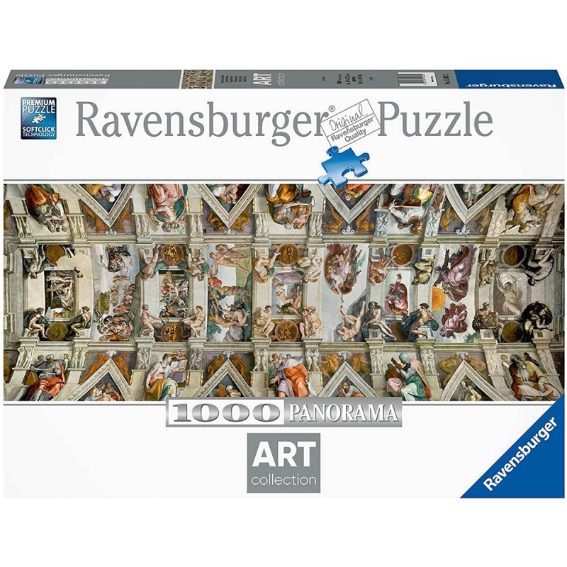 Puzzle 1000 Pz Cappella Sistina - Ravensburger  - MazzeoGiocattoli.it