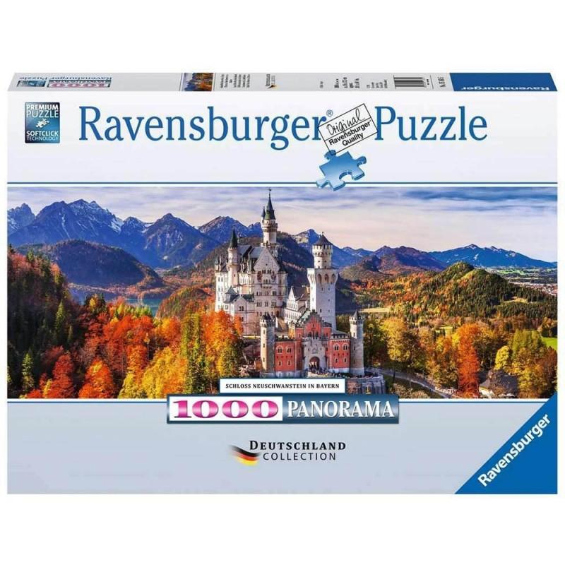 Puzzle 1000 Pz Castello Di Neuschwanstei - Ravensburger  - MazzeoGiocattoli.it