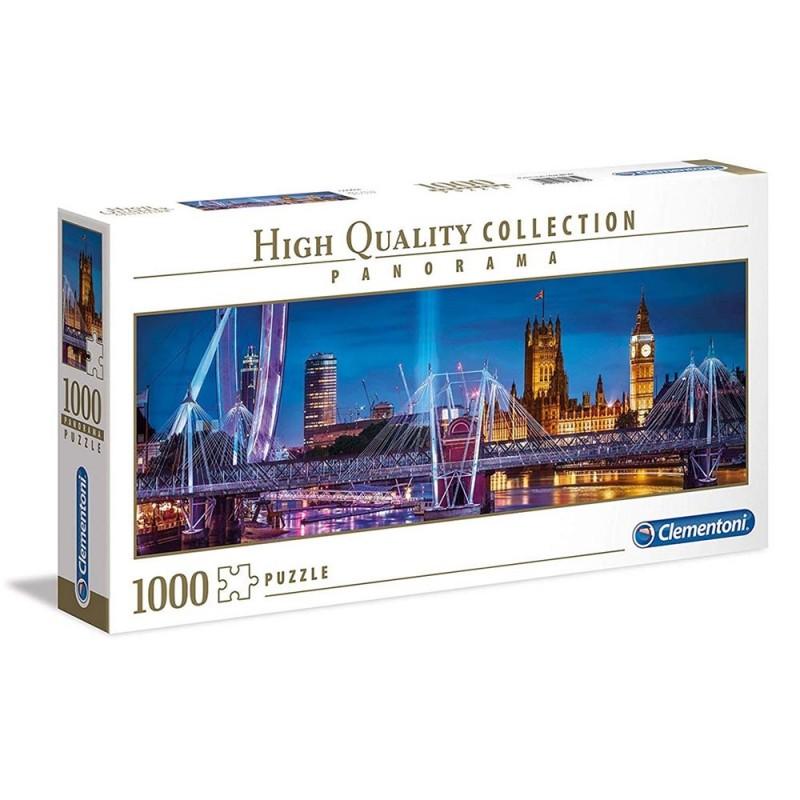 Puzzle 1000 Pz Città Di Londra - Clementoni  - MazzeoGiocattoli.it