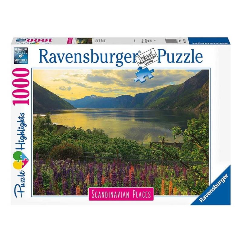 Puzzle 1000 Pz Fiordo In Norvegia - Ravensburger  - MazzeoGiocattoli.it