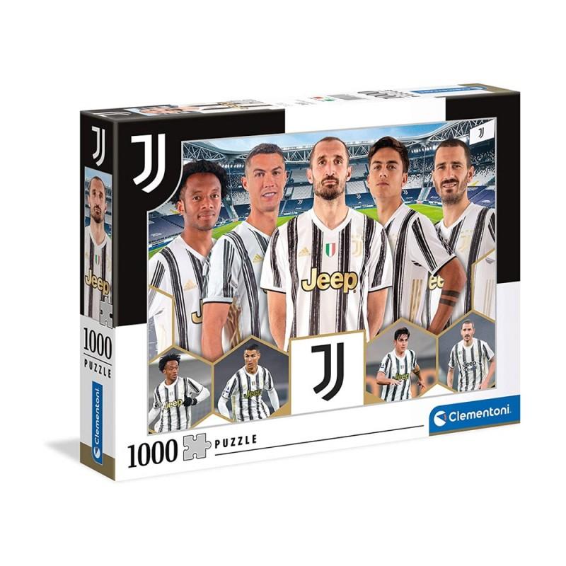 Puzzle 1000 Pz Juventus 2021 - Clementoni  - MazzeoGiocattoli.it