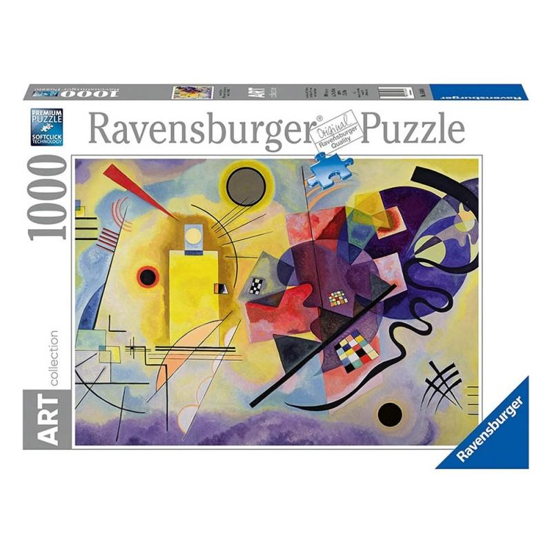 Puzzle 1000 Pz Kandinsky, Wassily: Yellow - Ravensburger  - MazzeoGiocattoli.it