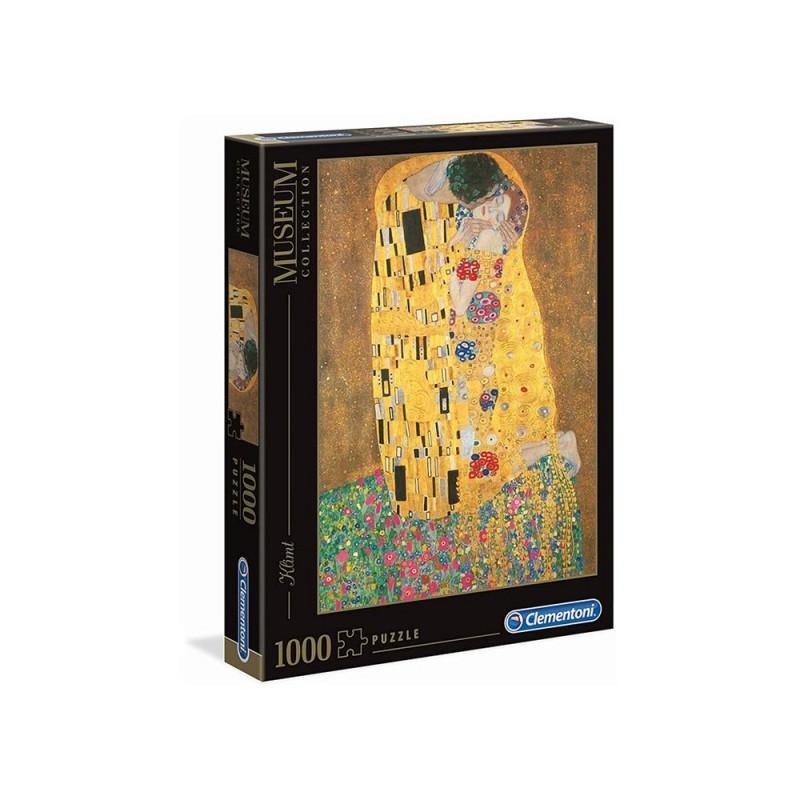 Puzzle 1000 Pz Klimt: Il Bacio - Clementoni  - MazzeoGiocattoli.it