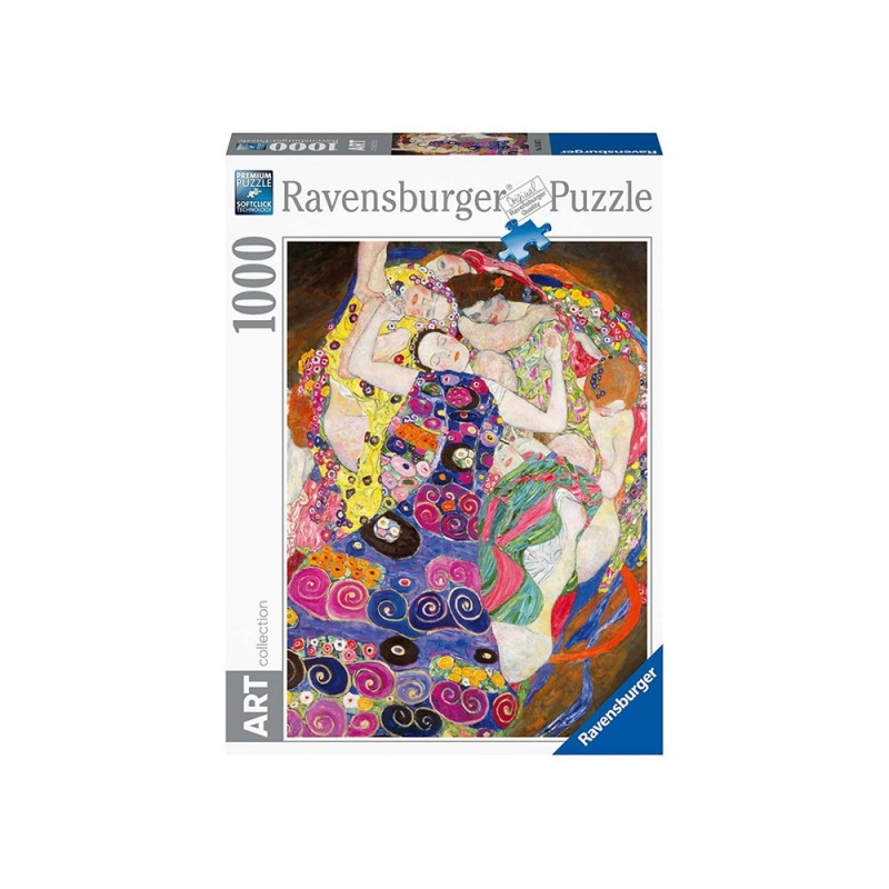 Puzzle 1000 Pz Klimt: La Vergine - Ravensburger - MazzeoGiocattoli.it