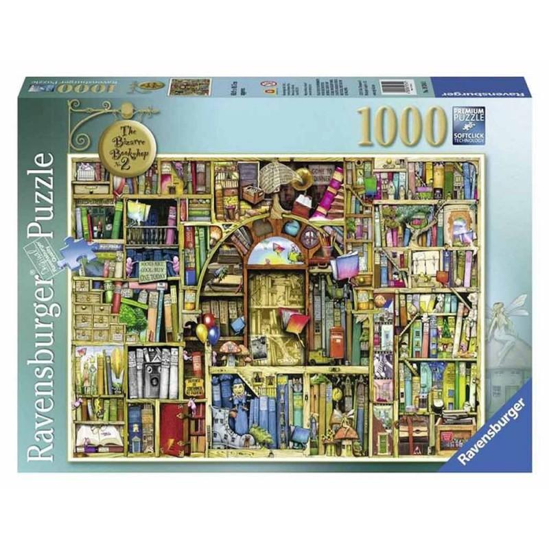 Puzzle 1000 Pz La Biblioteca Bizzarra 2 - Ravensburger  - MazzeoGiocattoli.it
