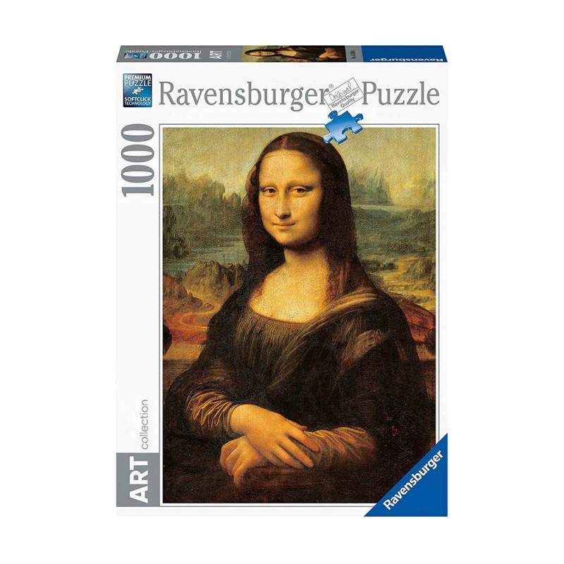 Puzzle 1000 Pz La Gioconda - Ravensburger  - MazzeoGiocattoli.it